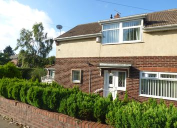 Thumbnail 3 bed semi-detached house for sale in Morpeth Road, Guidepost, Choppington