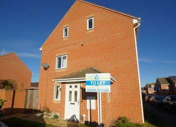 Thumbnail 3 bed end terrace house for sale in Barrie Way, Coventry