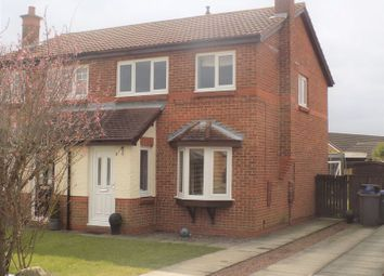 Thumbnail 3 bed semi-detached house to rent in Harebell Meadows, Newton Aycliffe