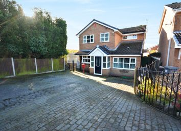 Thumbnail 4 bed detached house for sale in Longclough Road, Waterhayes, Newcastle