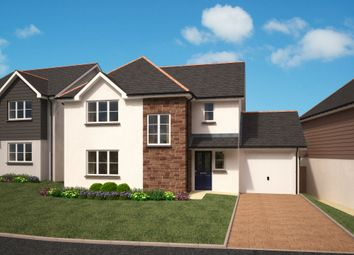 Thumbnail 4 bedroom detached house for sale in Trefoil At Chandler Park, Penryn