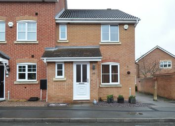Thumbnail 3 bed end terrace house for sale in Wheatcroft Close, Redditch