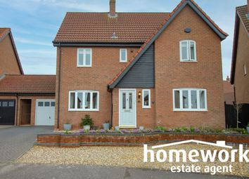 Thumbnail 4 bed link-detached house for sale in Wheatcroft Way, Dereham