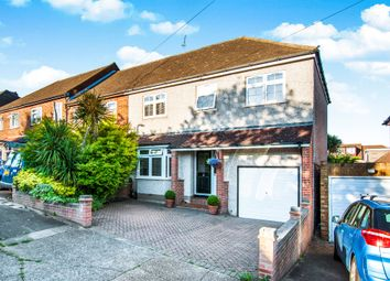 Thumbnail 4 bed semi-detached house for sale in Merlin Road, Collier Row, Romford