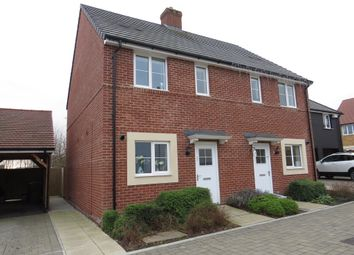 Thumbnail 2 bed end terrace house for sale in Harry Saunders Lane, Ashford