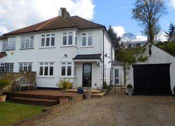 Thumbnail 3 bed semi-detached house for sale in Old London Road, Badgers Mount, Sevenoaks