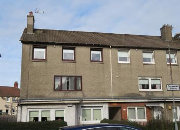 Thumbnail 3 bed flat for sale in Corsewall Street, Coatbridge