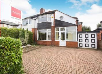 Thumbnail 4 bed semi-detached house for sale in Buckingham Road, Cheadle Hulme, Cheshire