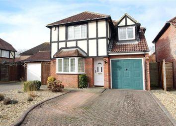 Thumbnail 4 bed detached house for sale in Barwick Close, Rustington, Littlehampton