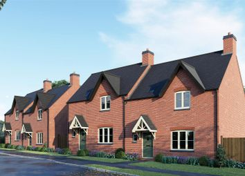 Thumbnail 3 bed semi-detached house for sale in Swinford Road, Catthorpe, Lutterworth
