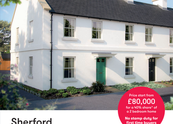 Thumbnail 2 bed terraced house for sale in Tucana Walk, Sherford Devon