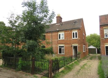 Thumbnail 3 bed terraced house for sale in Cemetery Lane, Wymondham