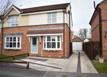 Thumbnail 3 bed semi-detached house for sale in Badminton Close, Bridlington