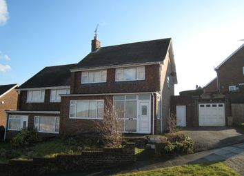 Thumbnail 4 bed terraced house to rent in Jevington Drive, Brighton