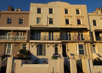 Thumbnail 1 bed flat for sale in Wellington Terrace The Esplanade, Sandgate, Folkestone