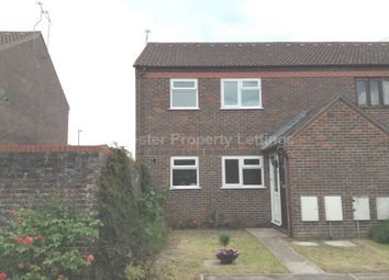 Thumbnail 1 bed semi-detached house to rent in Sandringham Court, Dorchester