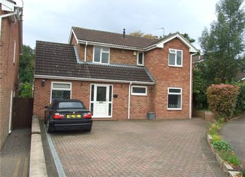 Thumbnail 4 bed detached house for sale in Freesia Close, Mickleover, Derby
