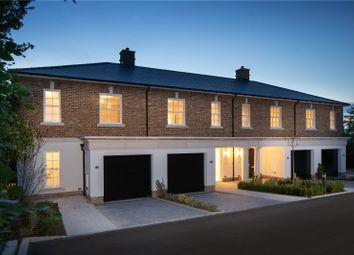 Burlington Place, Chilbolton Avenue, Winchester, Hampshire SO22. 3 bed terraced house for sale