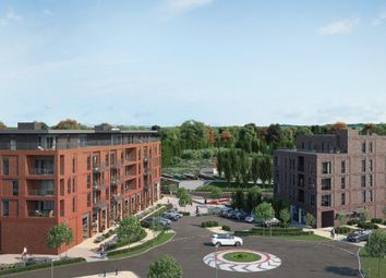"Thumbnail 2 bedroom flat for sale in ""Wharf View"" at Silbury Boulevard, Milton Keynes"