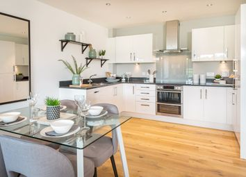 "Thumbnail 2 bed flat for sale in ""Woodhay House"" at Fetlock Drive, Newbury"