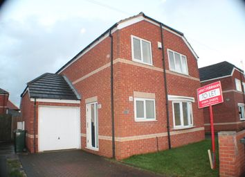 Thumbnail 3 bed detached house to rent in Caxton Road, Woodlands, Doncaster