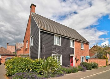 Thumbnail 4 bed detached house for sale in Benham Road, Basingstoke