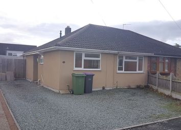 Thumbnail 2 bedroom bungalow to rent in 8 Ladbrook Drive, St Georges, Telford