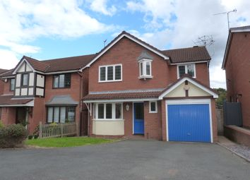Thumbnail 4 bed detached house to rent in Suffolk Drive, Worcester