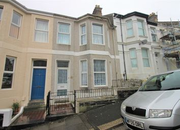 Thumbnail 4 bedroom terraced house for sale in Cecil Avenue, Plymouth