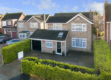 Thumbnail 4 bed detached house for sale in Dean Croft, Broomfield, Herne Bay, Kent