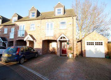 Thumbnail 3 bed town house for sale in Tower Gardens, Doncaster, South Yorkshire
