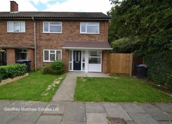 Thumbnail 3 bed end terrace house for sale in Vicarage Wood, Harlow, Essex