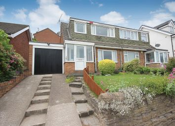 Thumbnail 3 bed semi-detached house to rent in Handley Road, New Whittington, Chesterfield