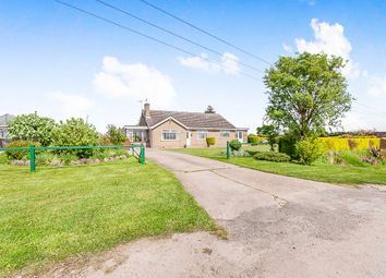Thumbnail 4 bed detached bungalow for sale in Mill Road, Walpole Highway, Wisbech