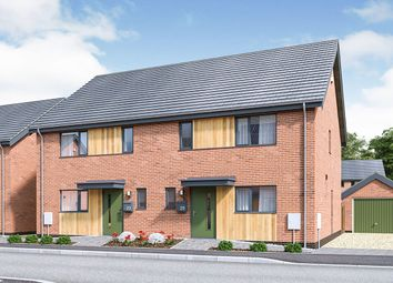 Thumbnail 3 bed semi-detached house for sale in Watton Green, Watton, Thetford