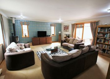 Thumbnail 4 bed detached bungalow for sale in Idvies, Forfar