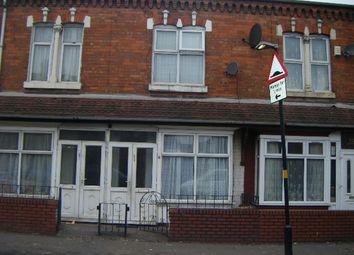 Thumbnail 3 bedroom terraced house to rent in Stoney Lane, Balsall Heath, Birmingham