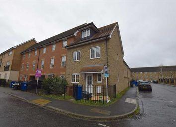 Thumbnail 3 bedroom end terrace house to rent in Caspian Close, Purfleet, Essex
