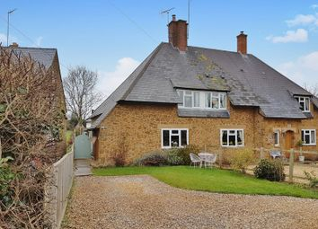 Thumbnail 3 bed semi-detached house for sale in Shutford Road, North Newington, Banbury