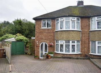 Thumbnail 3 bed semi-detached house for sale in Crawford Avenue, Northampton