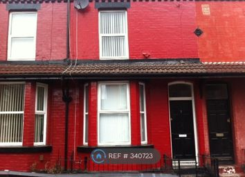 Thumbnail 3 bed terraced house to rent in August Road, Liverpool