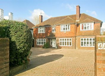 Thumbnail 4 bedroom detached house for sale in Peaks Hill, Purley, Surrey
