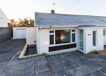 Thumbnail 2 bed semi-detached bungalow for sale in Brynna Road, Pencoed, Bridgend