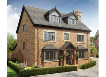 Thumbnail 5 bed detached house for sale in The Village, Newcastle