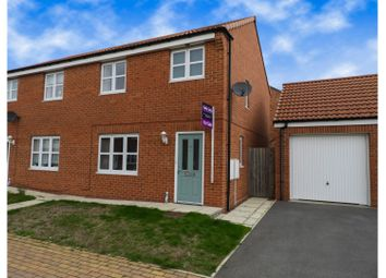 Thumbnail 3 bed semi-detached house for sale in Paddock Lane, Darlington