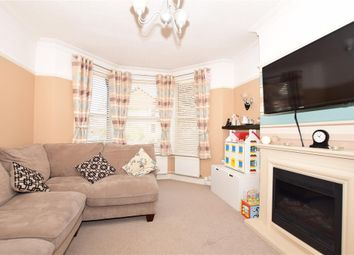 Thumbnail 3 bed terraced house for sale in Ashley Avenue, Cheriton, Folkestone, Kent