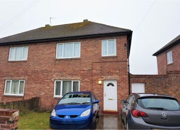 Thumbnail 4 bed semi-detached house for sale in Reedswood Crescent, Cramlington