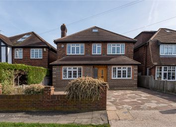 Thumbnail 5 bed detached house for sale in Linkside, New Malden