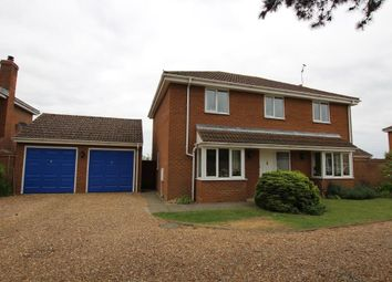 Thumbnail 4 bed detached house for sale in Lodge Gardens, Haddenham, Ely
