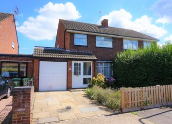 Thumbnail 3 bed semi-detached house for sale in Cornelia Close, Bletchley